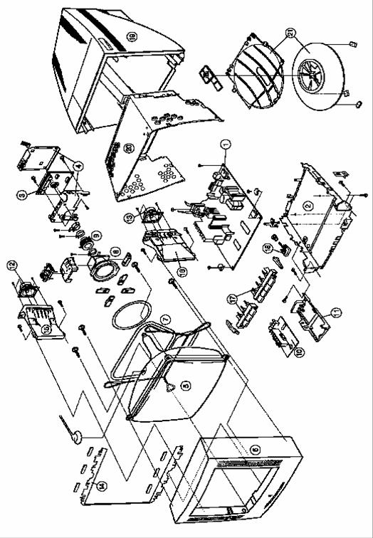 Схема разборки и сборки